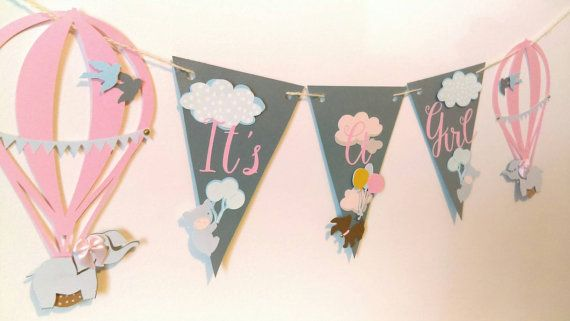 It's a girl baby shower decorations girl baby by PeytonsTreasure