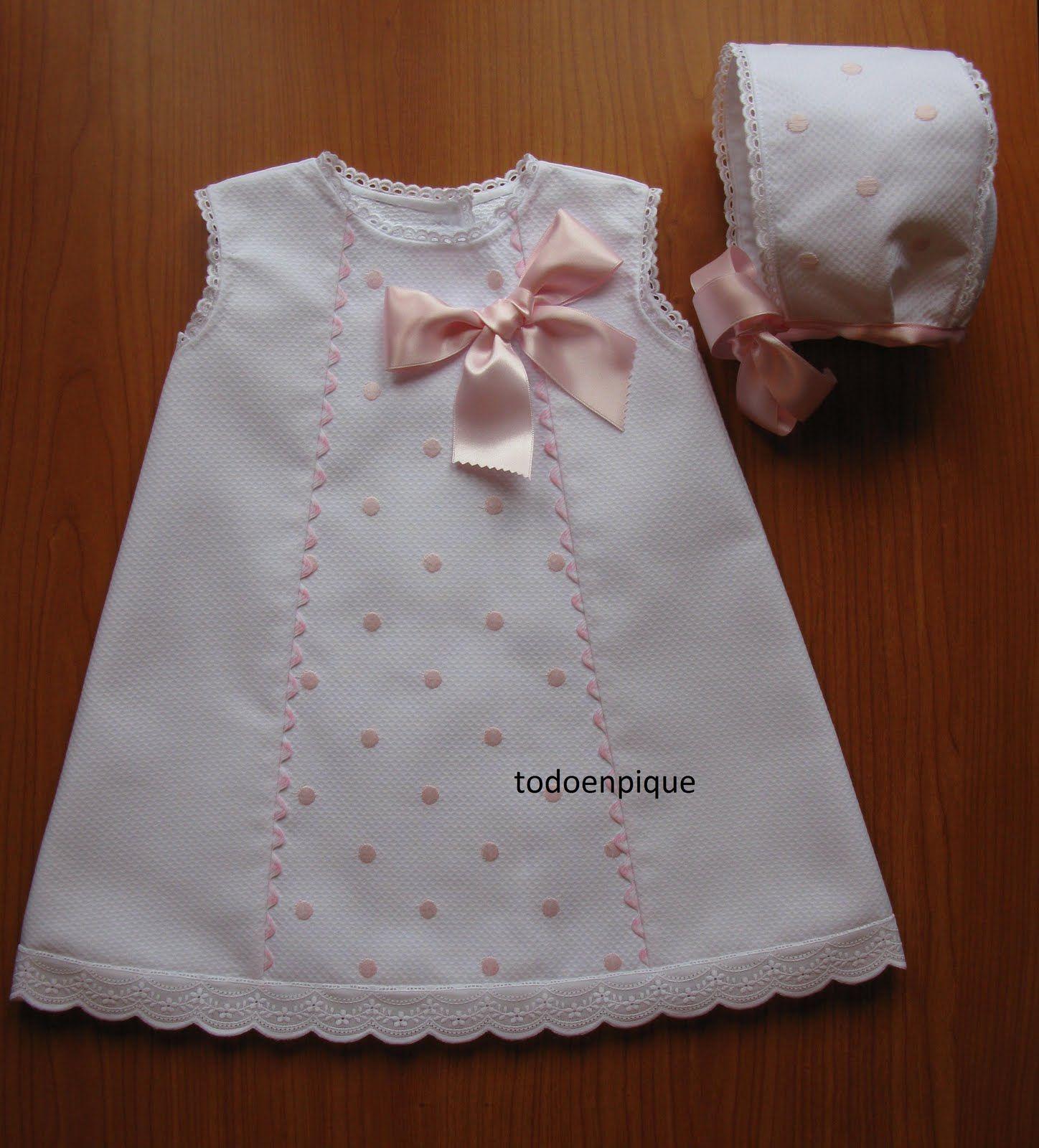TODO EN PIQUE para bebé | More Baby things - now and then ...