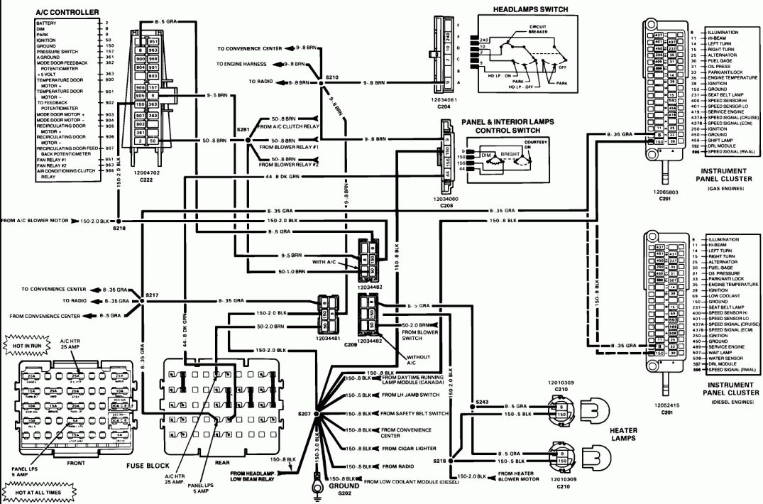 16  1986 Chevy K10 Engine Wiring Diagram