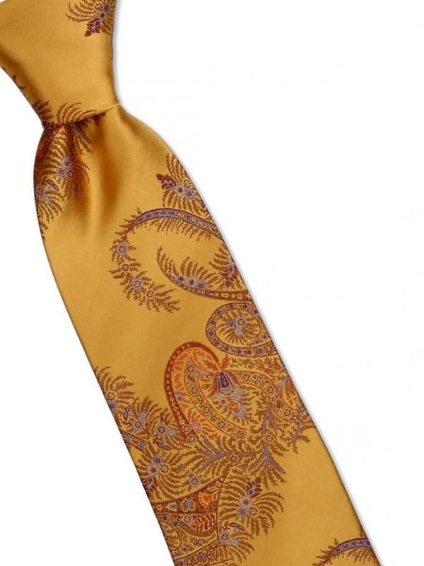 Tie and Hanky Set | 100% silk | Big-Knot | W842