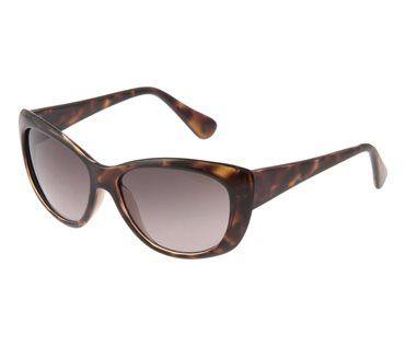 Sonnenbrille mit Animal-Muster für coole Stylings und optimalen Lichtschutz