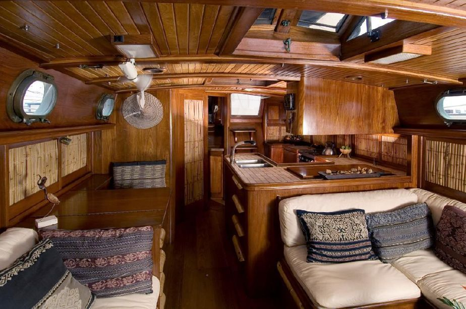 The Most Beautiful Yacht Interior I Have Ever Seen On A Small
