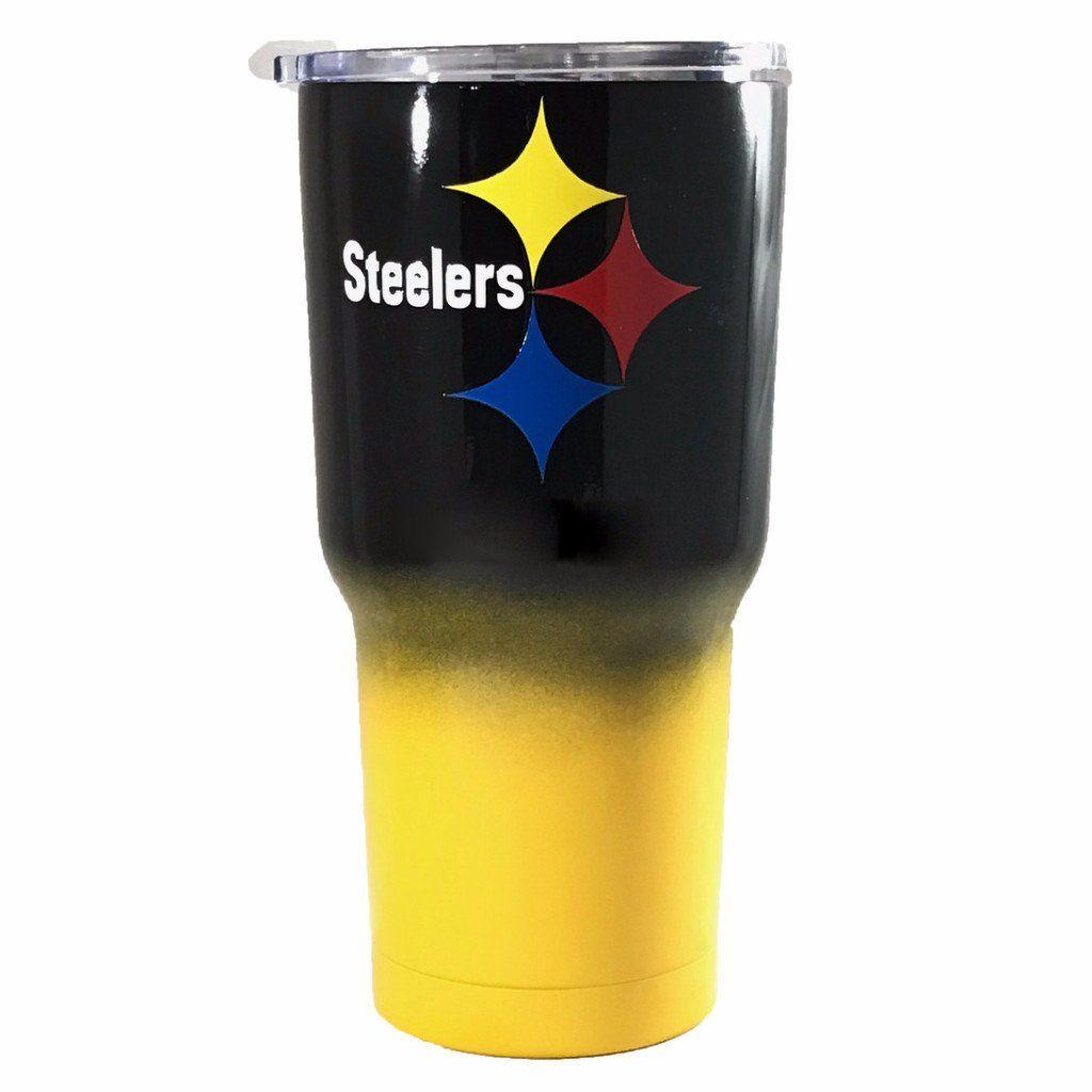 Pittsburgh Steelers Personalized 30 Oz Custom Powder