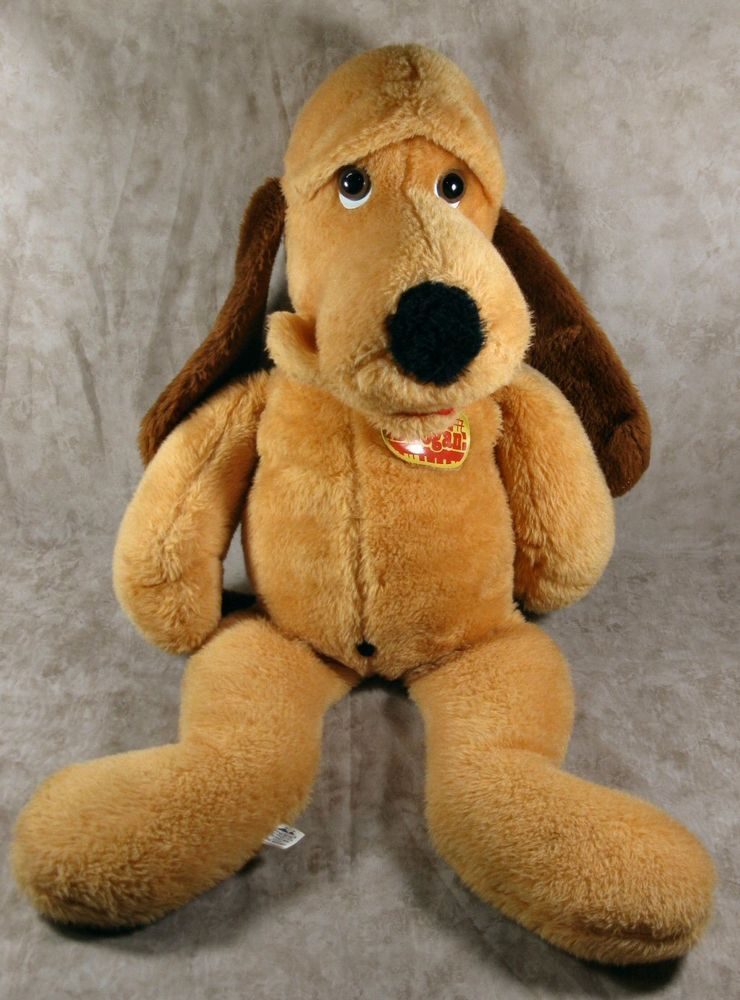 Vintage 1976 Animal Fair 30 Doogan Hound Dog Plush Stuffed Animal