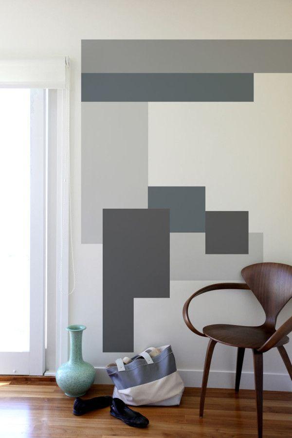 Color Blocking Wall Decals By Mina Javid For Blik Diy Wall