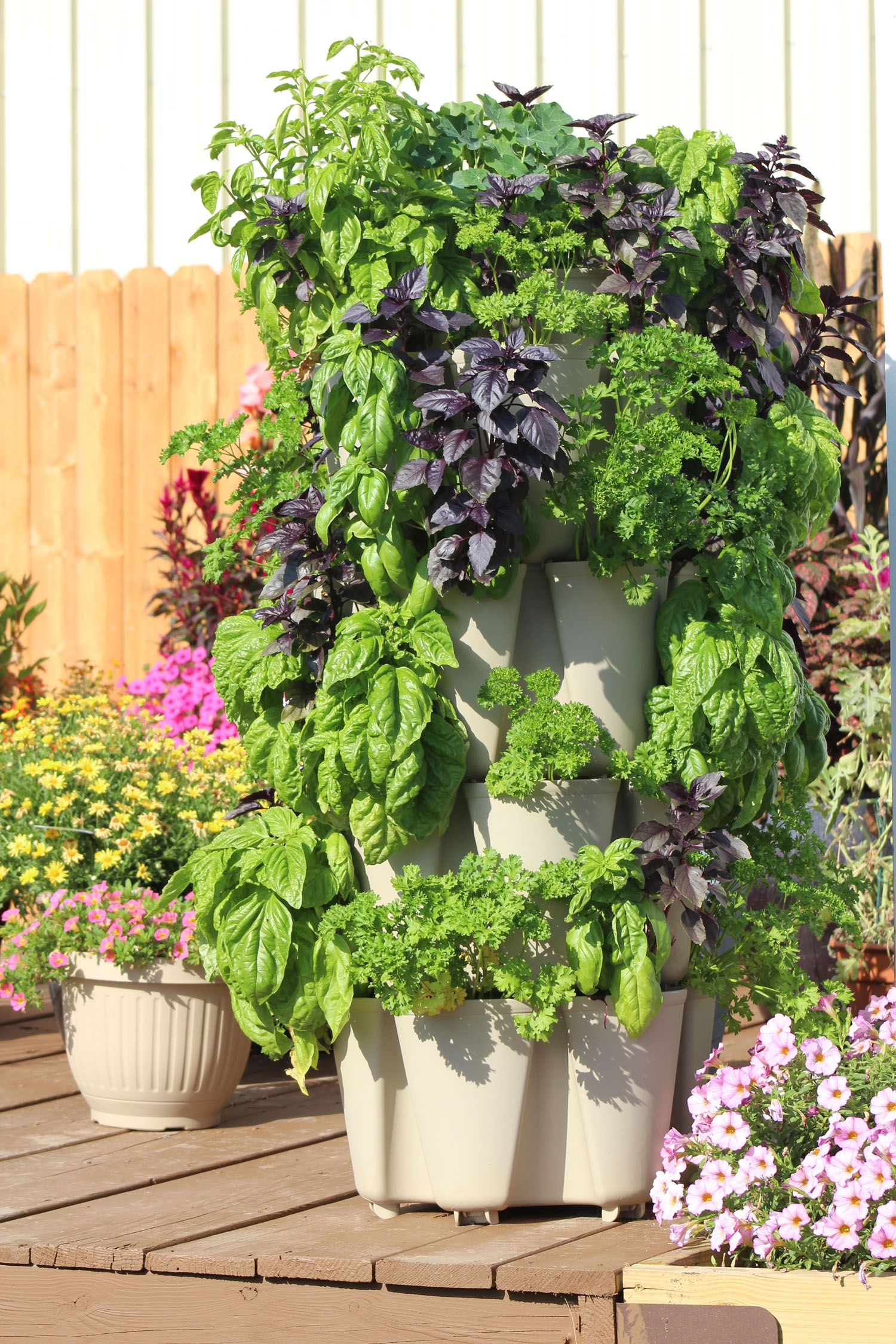 Greenstalk Vertical 4 Tier Planter National Garden Bureau