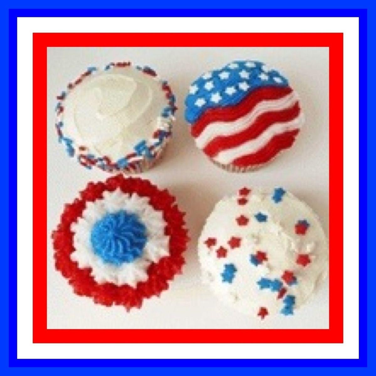 patriotic cupcake ideas cakes cupcakes cookies pies candy