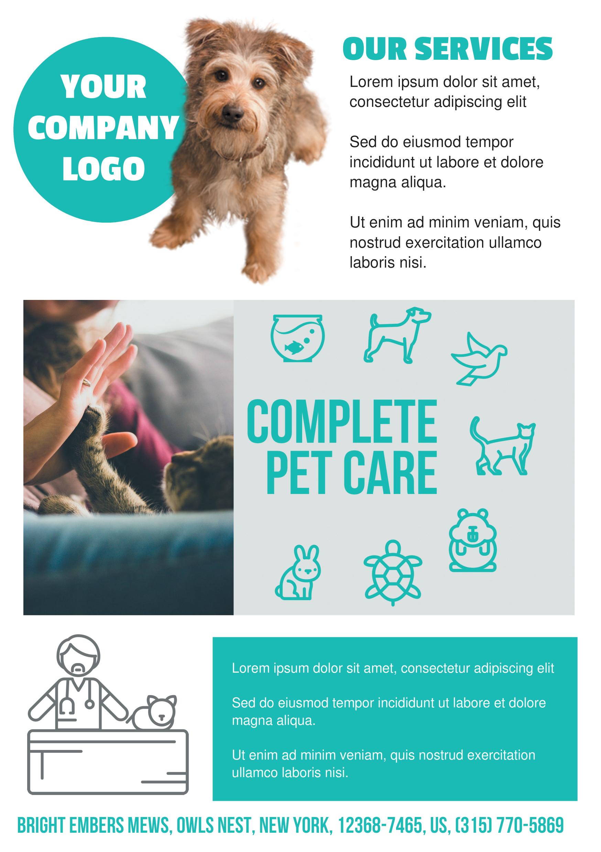 Pet care a5 promotional flyer httppremadevideosa5 flyer discover ideas about promotional flyers maxwellsz