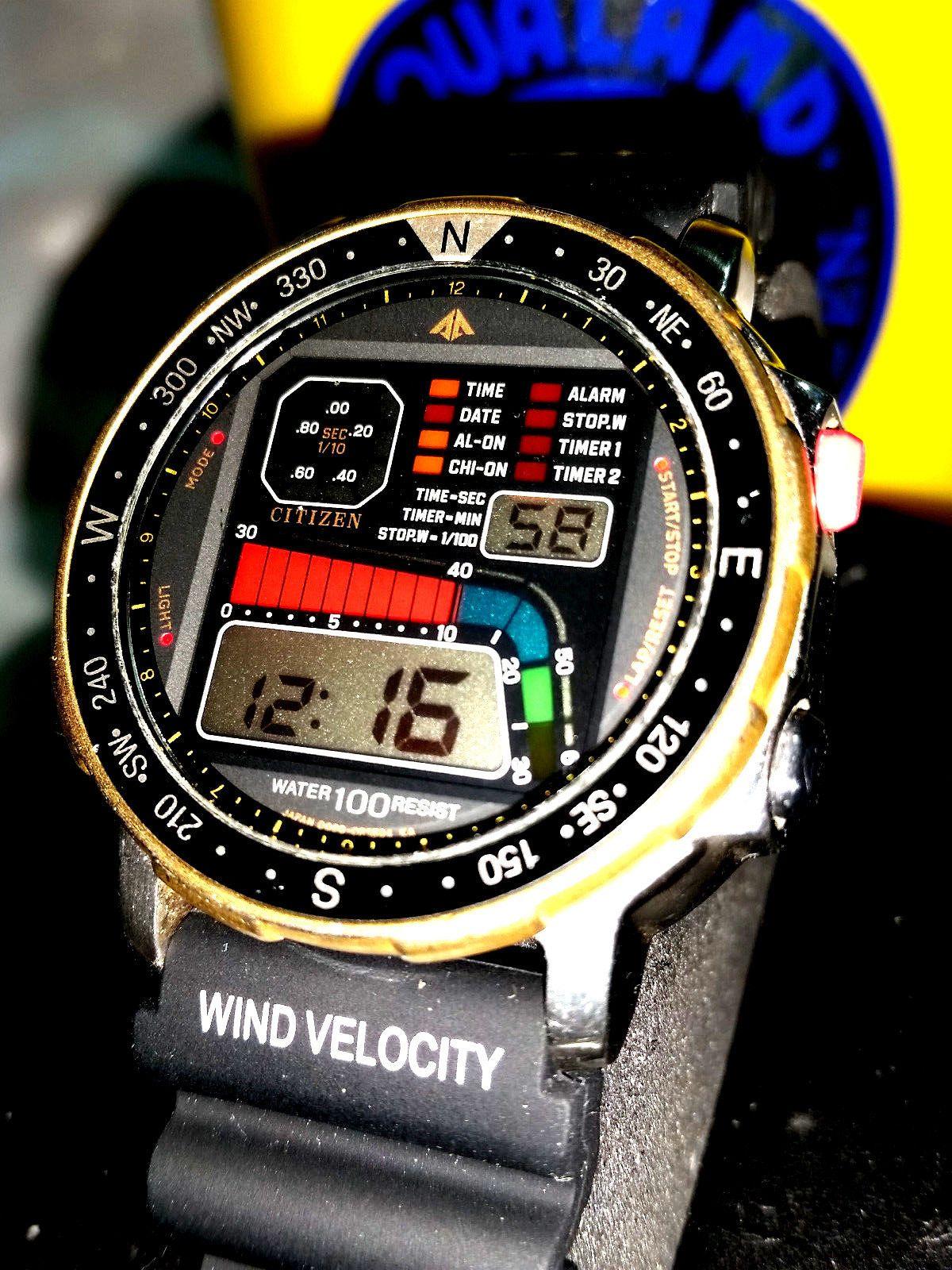 7920488970f Relógio Citizen Windsurf