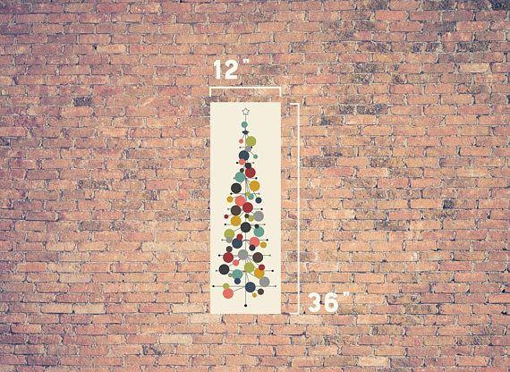 diese mitte des jahrhunderts moderne inspiriert weihnachtsbaum ist perfekt fr ihre wohnung haus oder im studentenwohnheim kein platz fr ein 3d baum - Mitte Des Jahrhunderts Modernes Haus