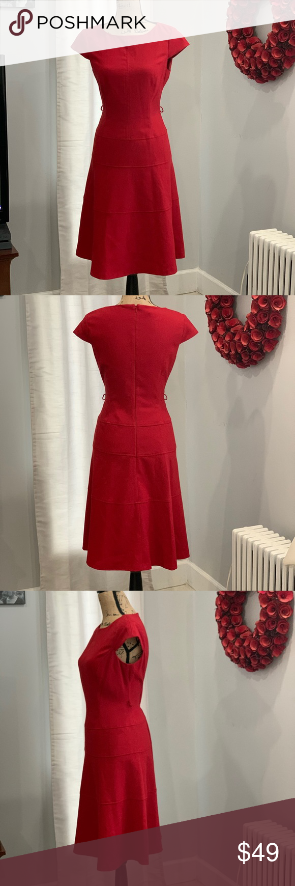 Red Dress Size 8