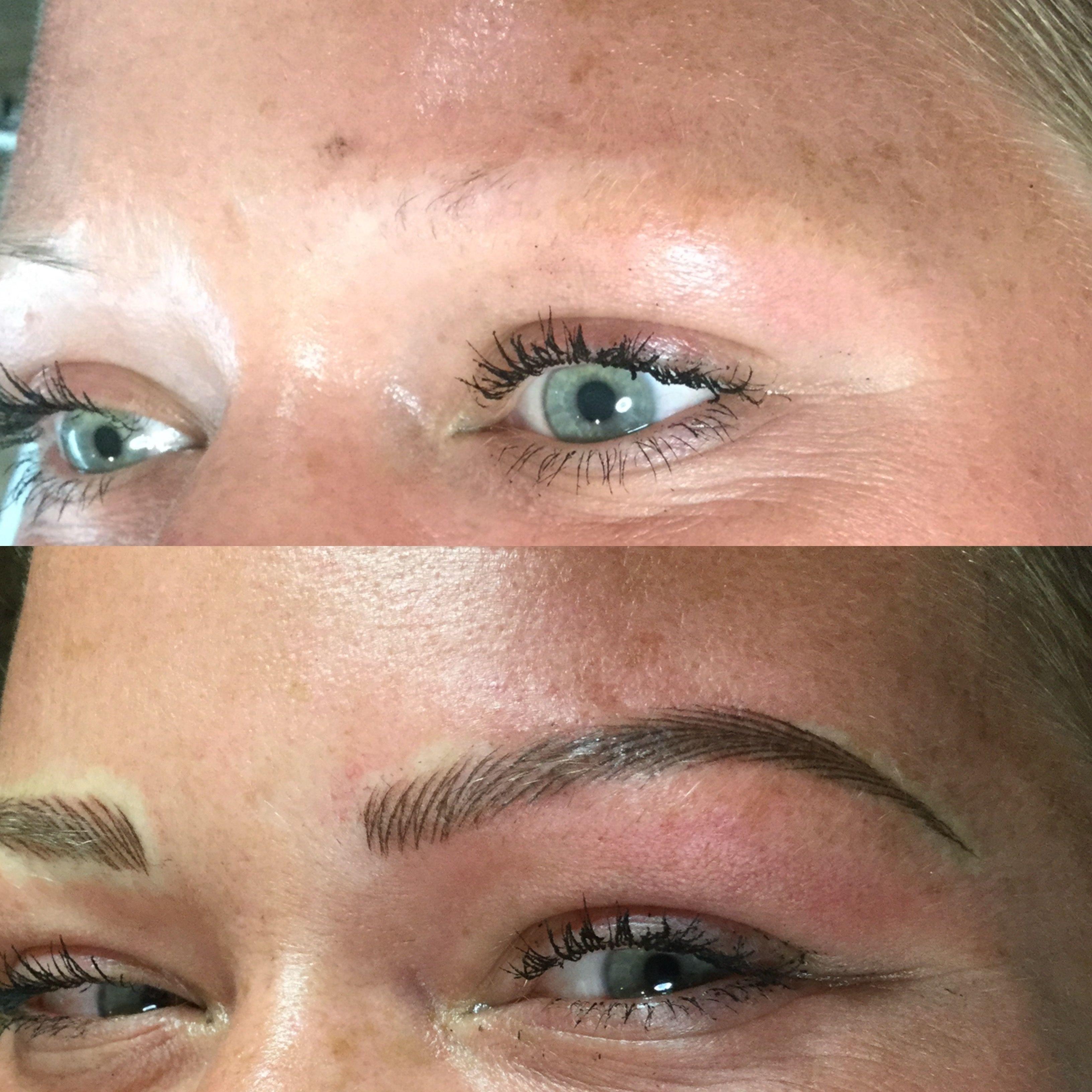 Micropigmentation Eyebrows By Mako Cosmetic Tattoo Arts