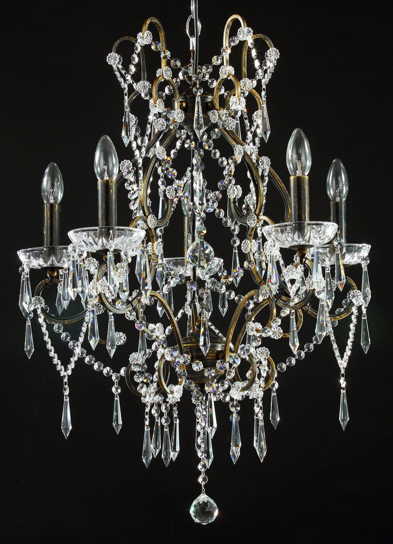 Genial Diamant Crystal Kronleuchter Castle Bronze #kronleuchter #klassisch  #kristall