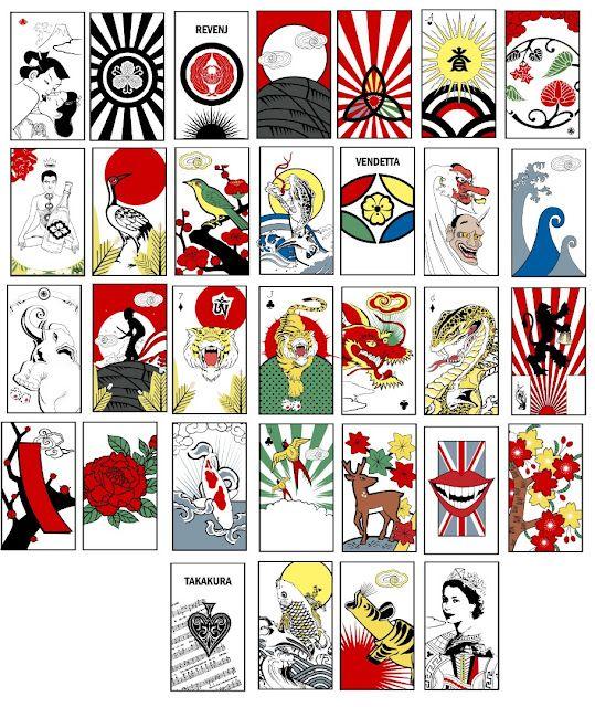 Hanafuda Cards by Sean D'Anconia.. I know this guy! | Hanafuda ...