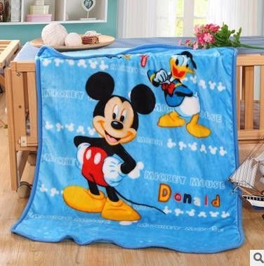 2a85fb9537 Winter Baby Blanket  Children Girl s Soft Coral Quilt 100 140cm Hello kitty  Cartoon Characters plaid fleece Blankets Wholesale 8