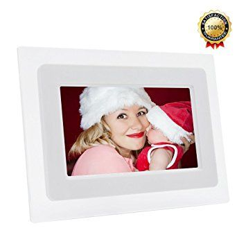 7-Inch Digital Photo Frame TFT LCD Screen with Auto- Play/Calendar ...