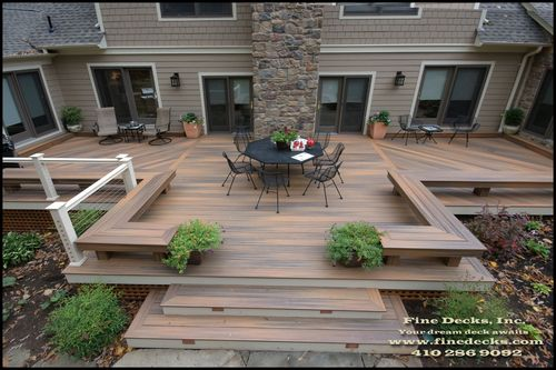 Pin By Fiberon On Planning Help Inspiration Building A Deck Backyard Patio Designs Backyard Patio
