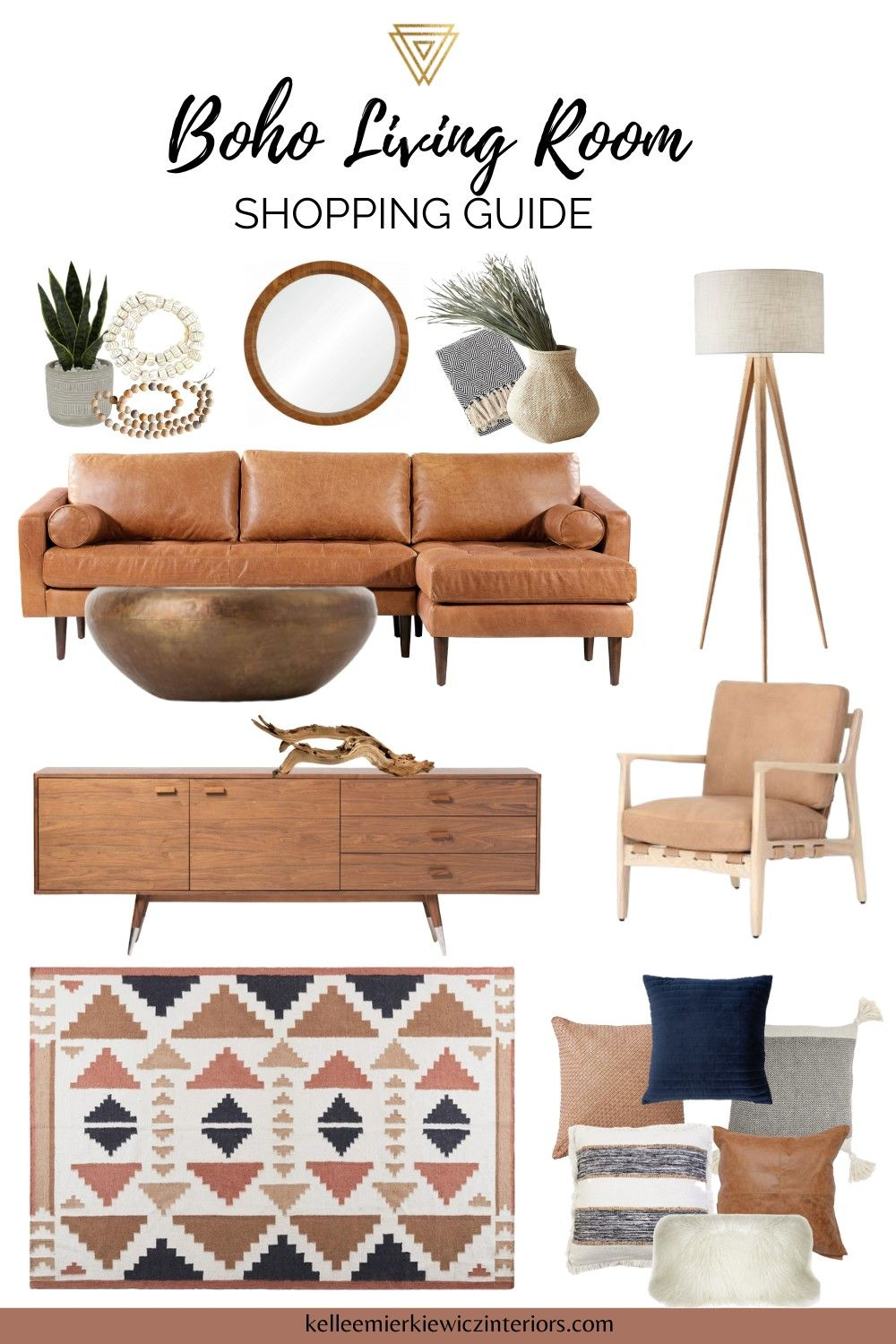 Shop The Look Boho Chic Living Room Kellee Mierkiewicz Interiors In 2020 Boho Chic Living Room Chic Living Room Home Decor #shop #this #look #living #room