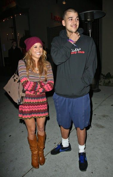 rob kardashian and girlfriend