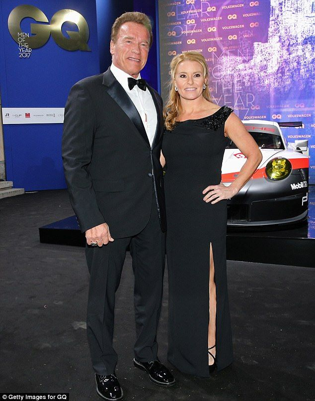 Arnold Schwarzenegger makes public appearance with