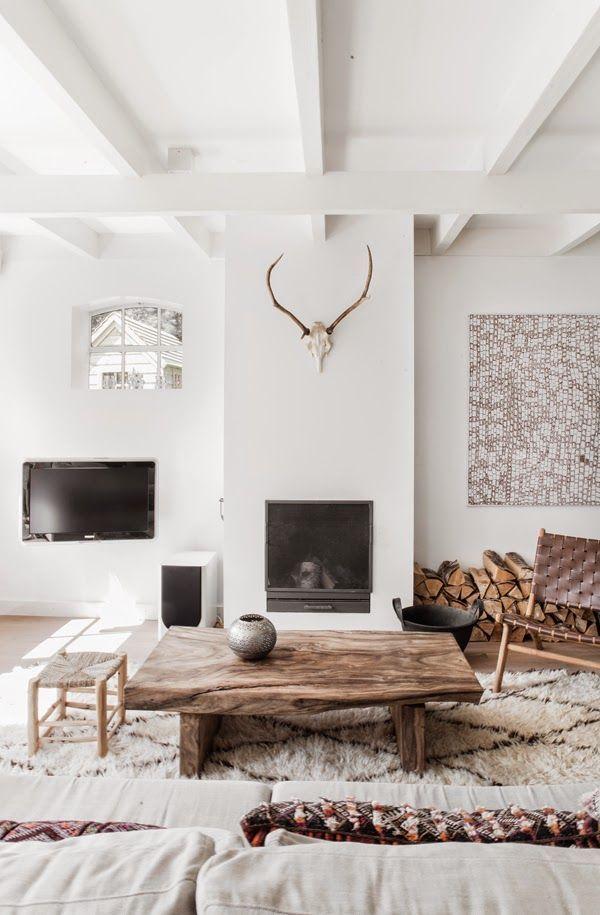 A Serene Dutch Home In Whites And Browns My Scandinavian Bloglovin