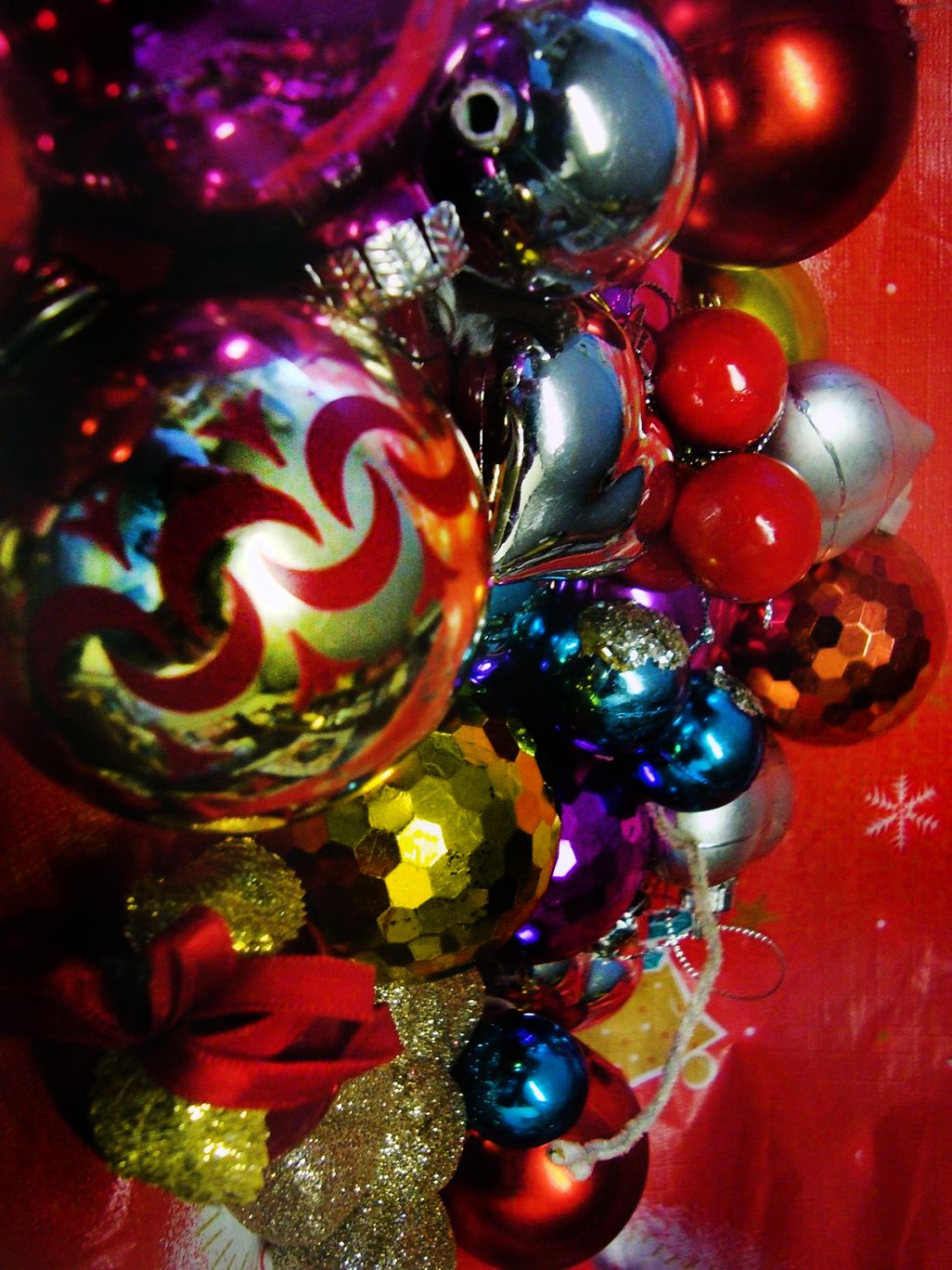 Vintage Christmas Baubles From The Uk Christmas Past Halloween