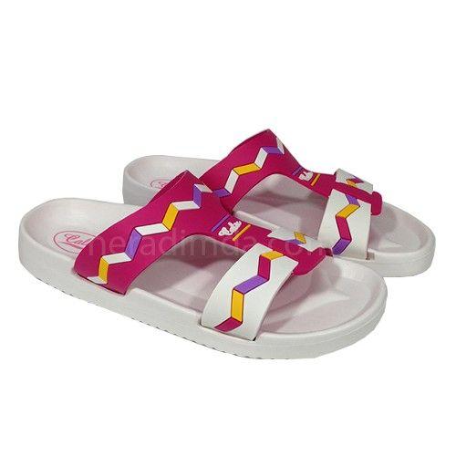 Uygun Fiyatli Beyaz Bayan Terlik 359 Sandalet Terlik Babetler