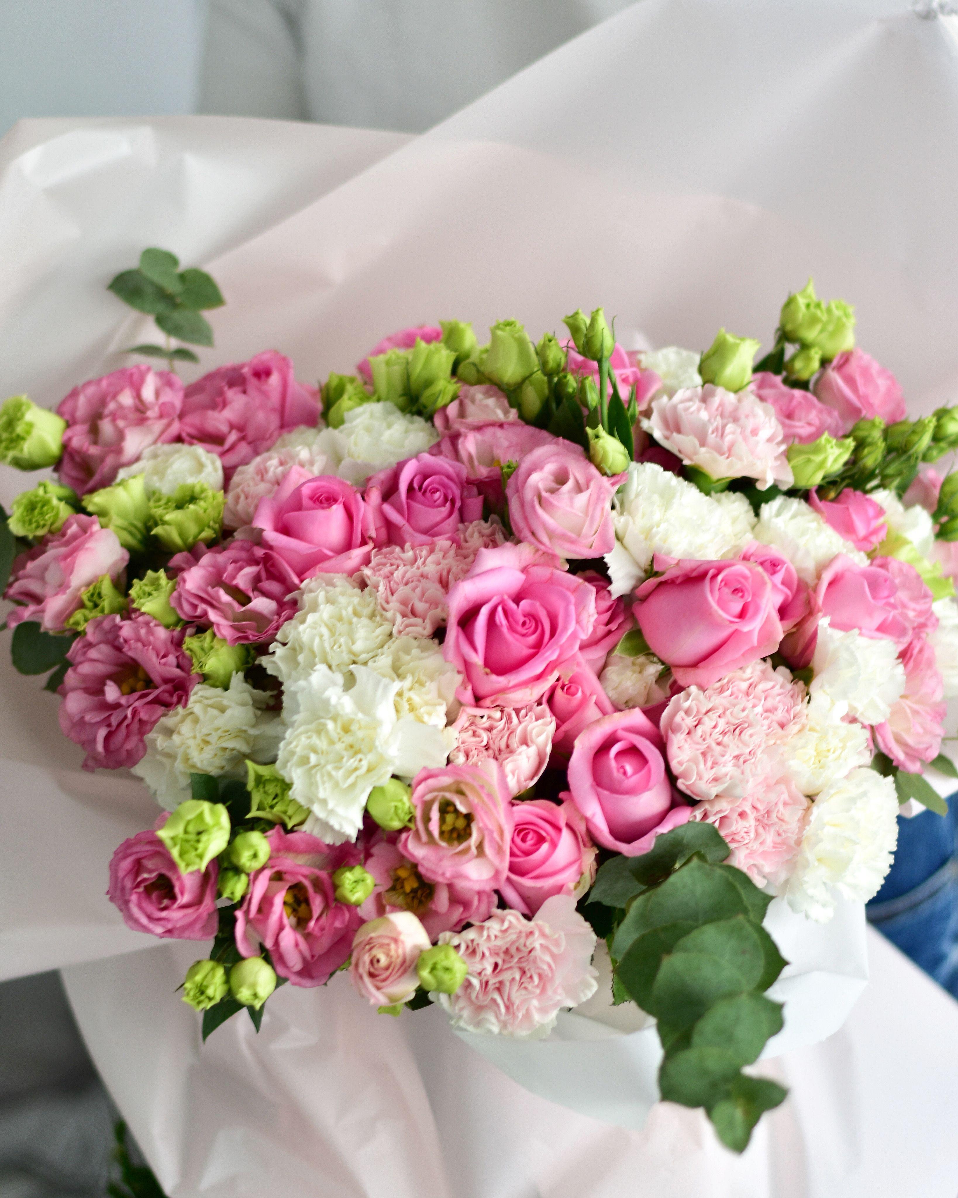 Bukiet Kwiaty Zywe Flower Boxes Floral Wreath Floral