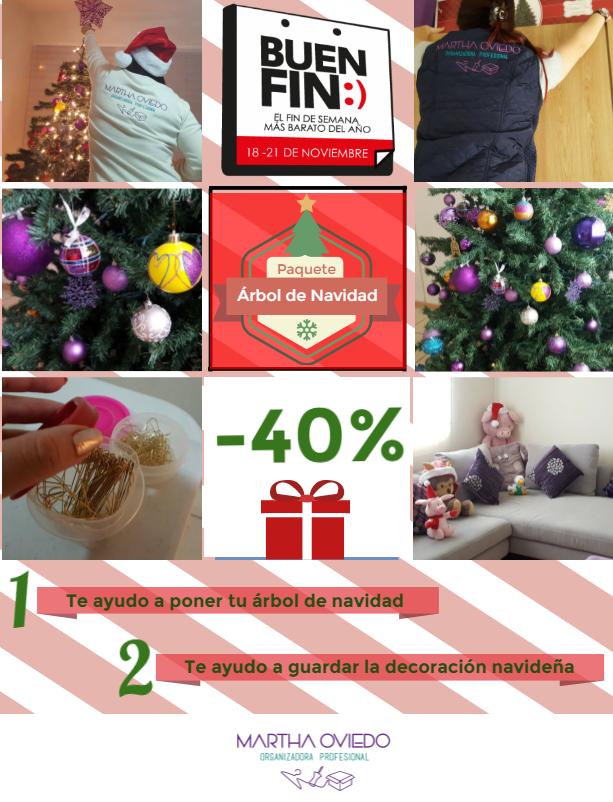 Promociones del Buen Fin en Querétaro. Te ayudo a poner y quitar tu decoración navideña.