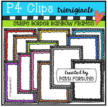 FUN FRAMES just for FUN and for FREE !!! This clip art set includes ...