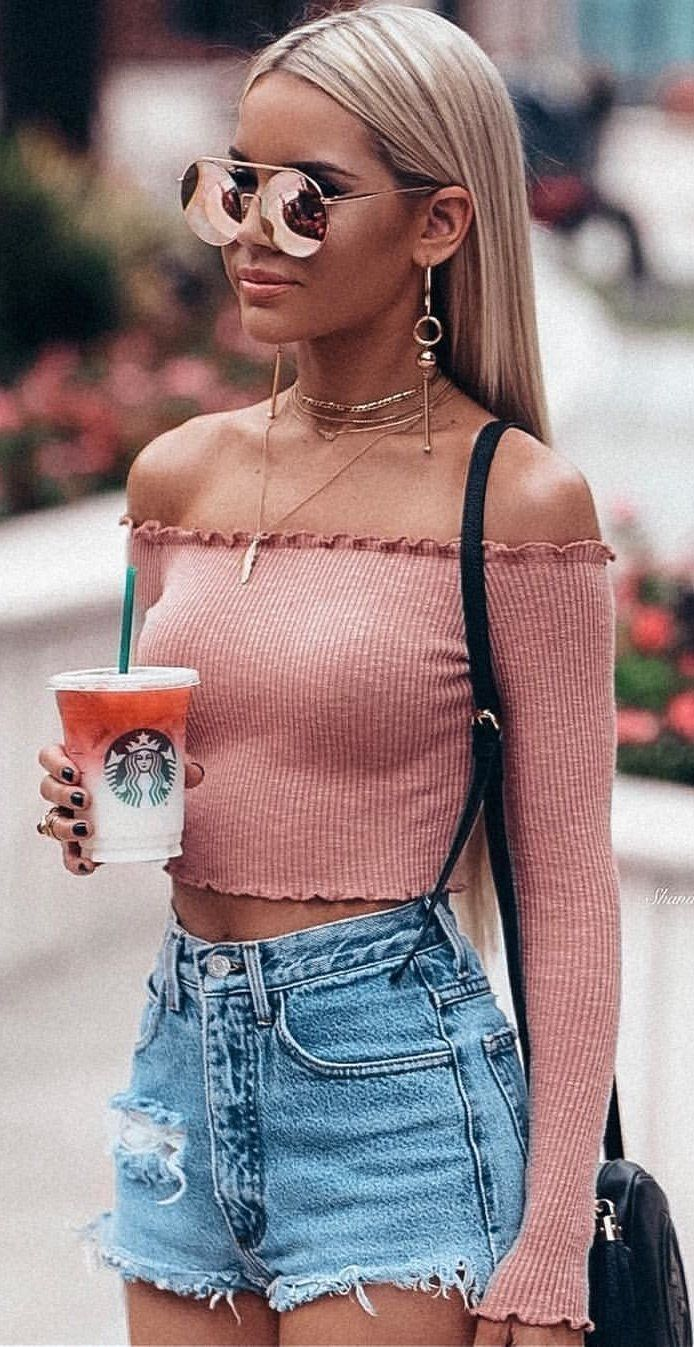 10+ Awesome Summer Outfits That Always Looks Fantastic - Lalia Lingo #trendyspringoutfits