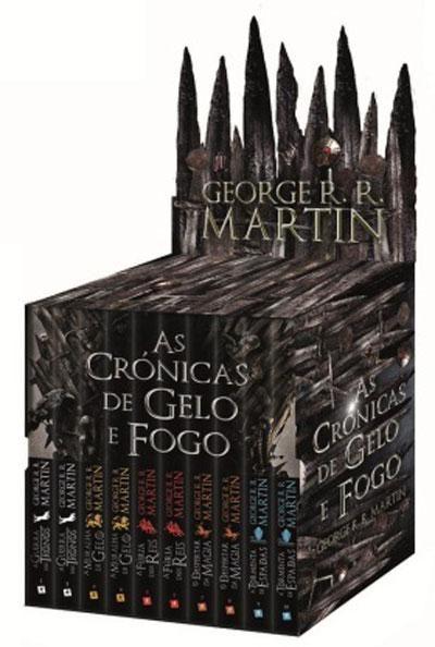Pack As Cronicas De Gelo E Fogo Sugestoes De Livros
