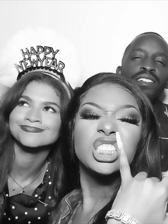 Beyonce And Megan Thee Stallion In 2020 Black Girl Aesthetic Black Girl Weave Beyonce