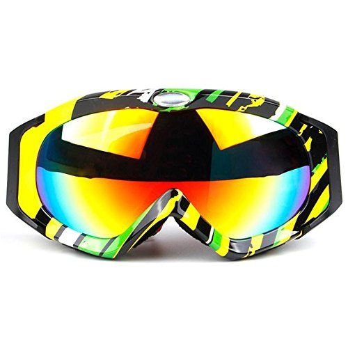 YH Nwe Arrival Unisex Sports Quality Goggle Antifog Profession Sking EyewearC4 -- For more information, visit image link.
