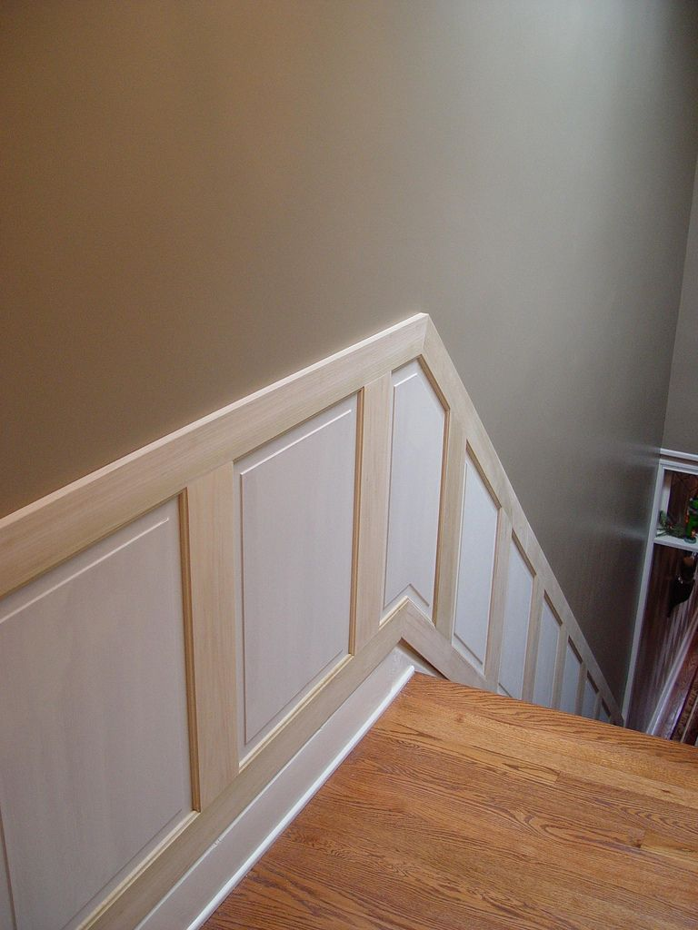 Delicieux Staircase Wainscoting And Handrail Project   Old Town Home
