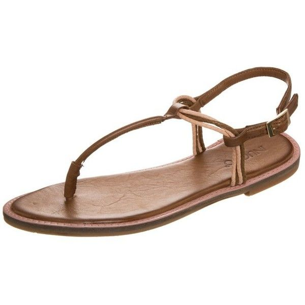 new products b197f 95076 Inuovo Flip flops found on Polyvore | Top Shoes | Brown ...