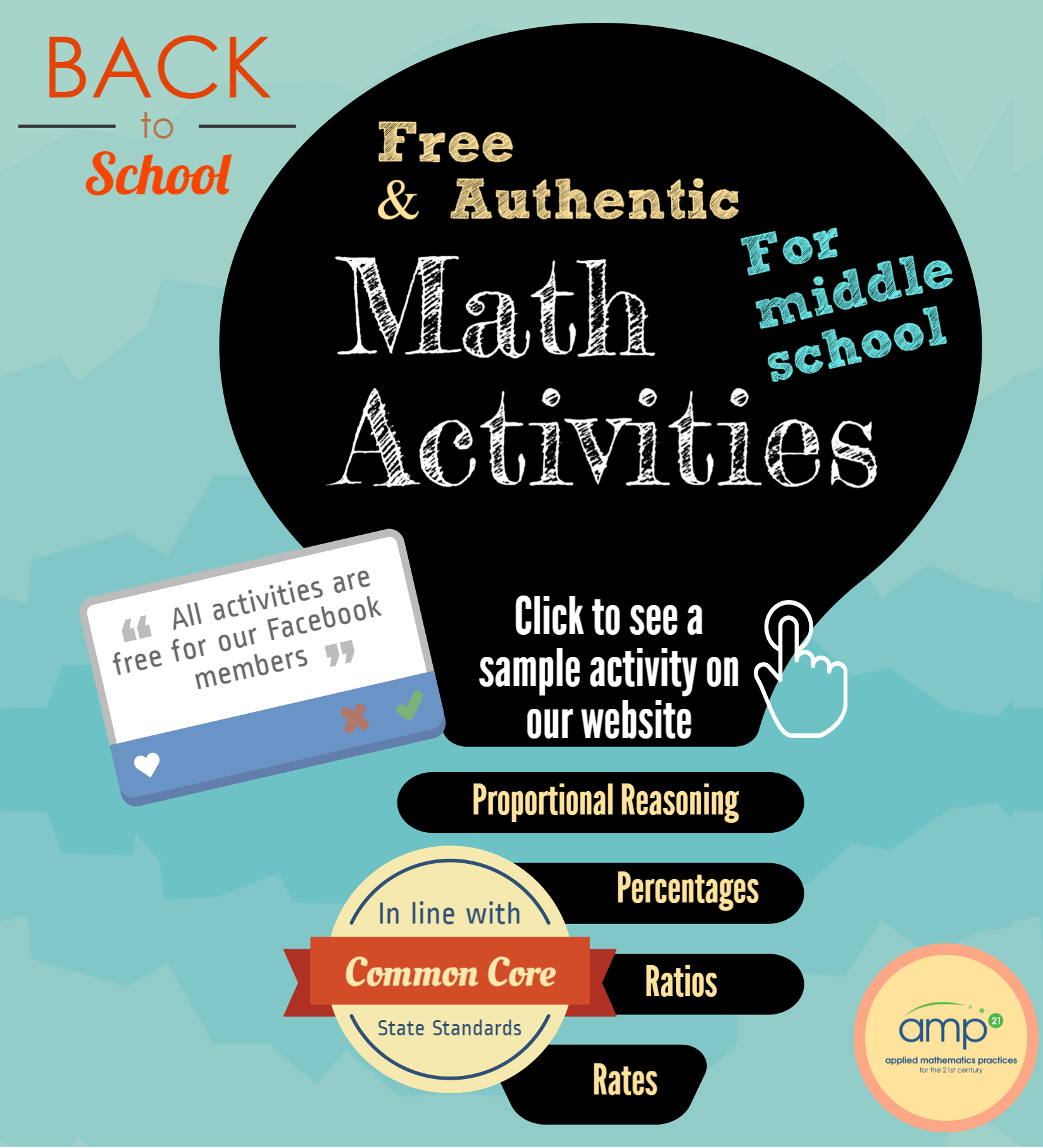 We share FREE #math #activities for #middle #school #teachers on our ...