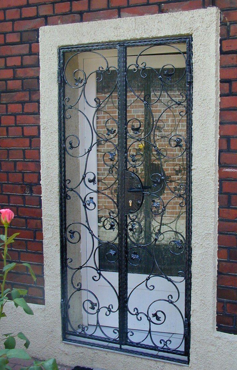 Fabulous Einbruchschutz Terrassentür | Türgitter | Gitter terrasse GN69