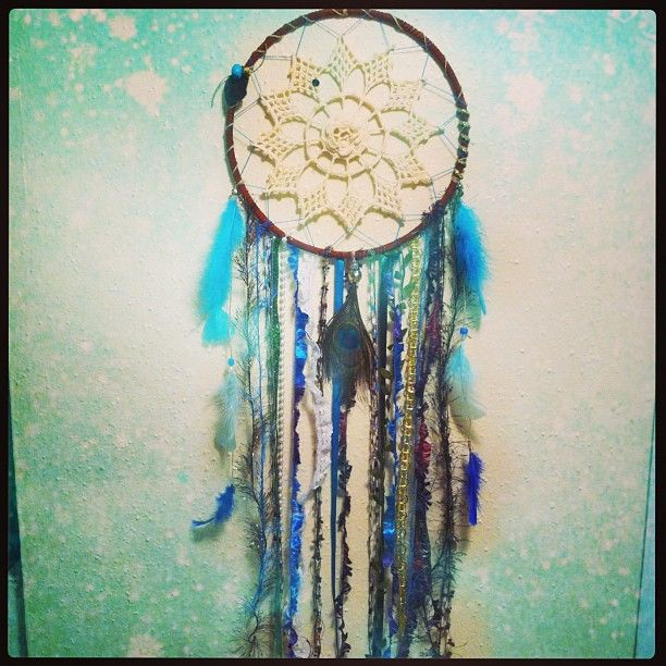 Who Created The Dream Catcher Handmade Peacock Dreamcatcher Dreamcatchers handmade peacock 22