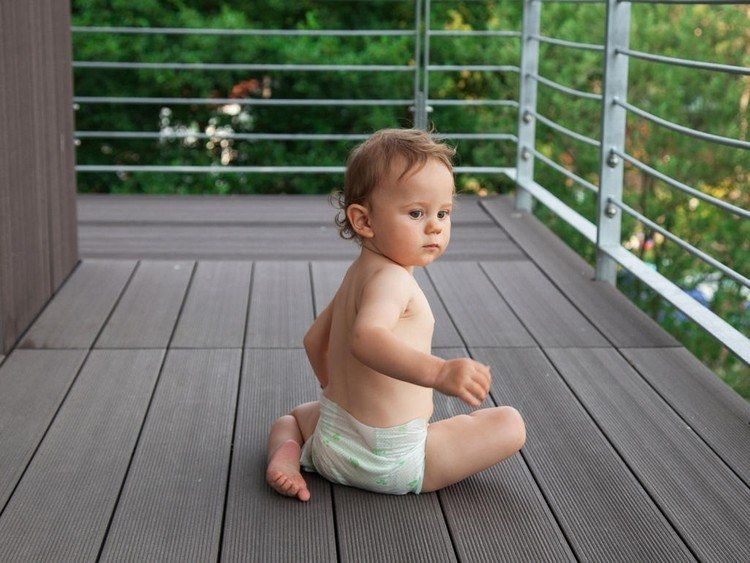Kindersicherer Balkon!