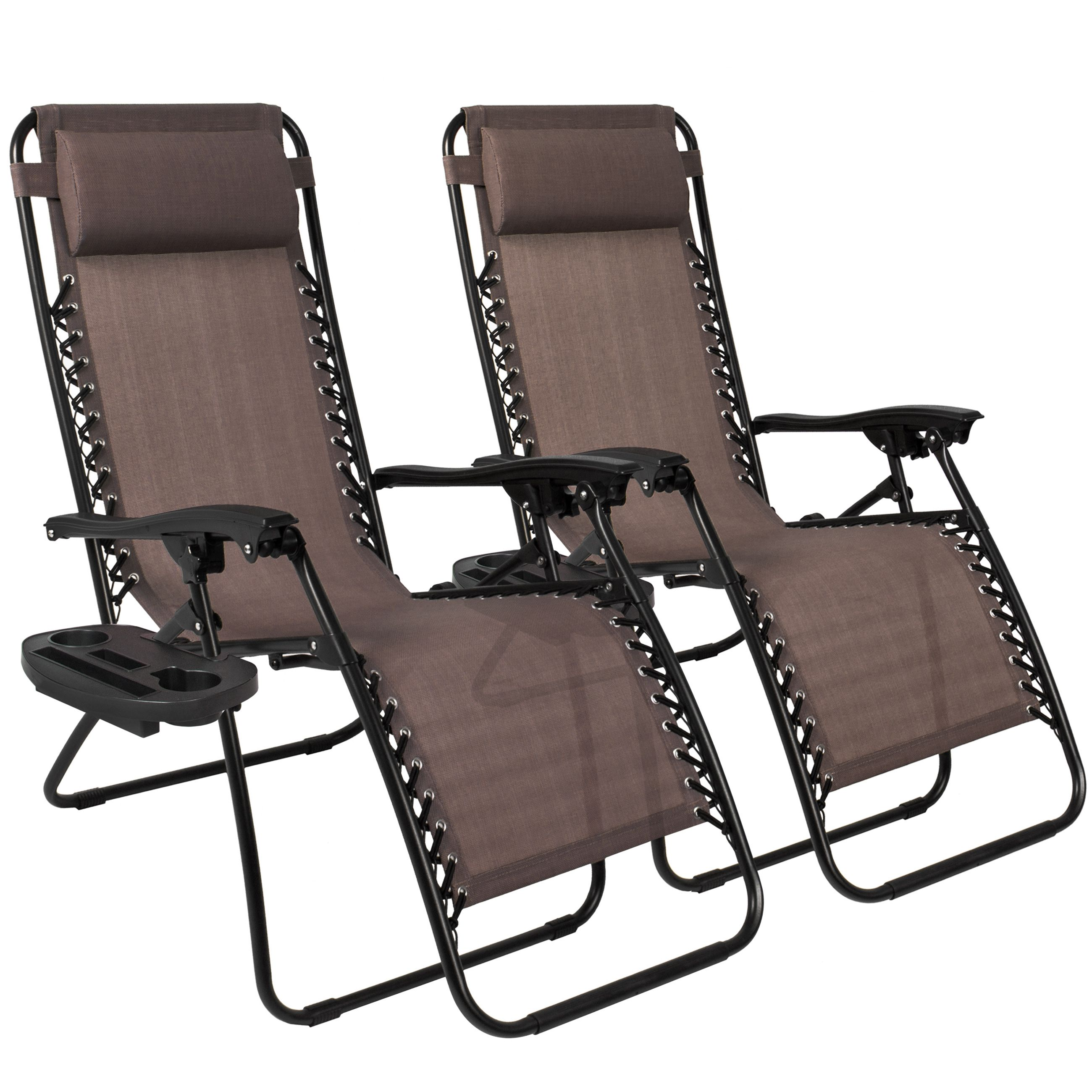 Best Choice Products Zero Gravity Chairs Case 2 Lounge Patio