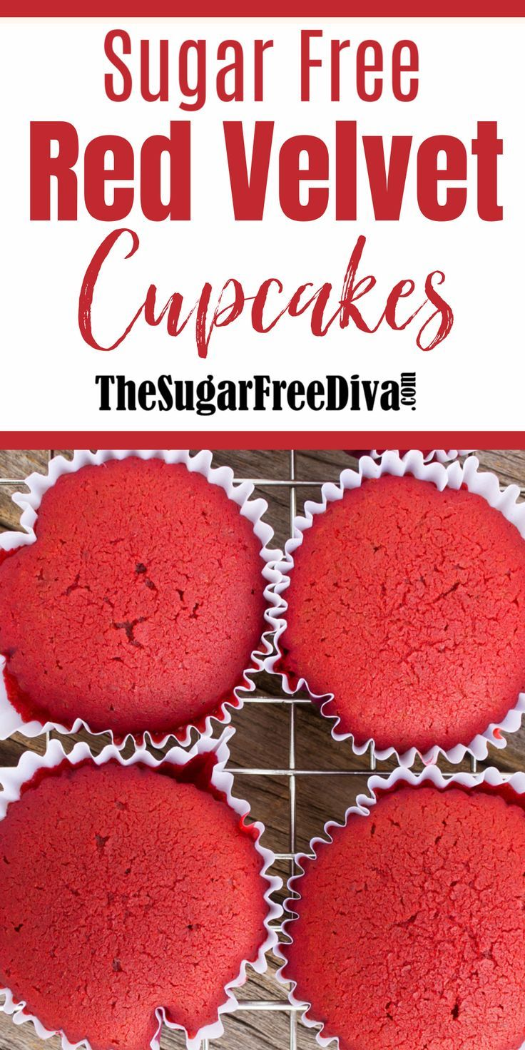 YUM!! Sugar Free Red Velvet Cupcake Recipe!! #freereadingincsites