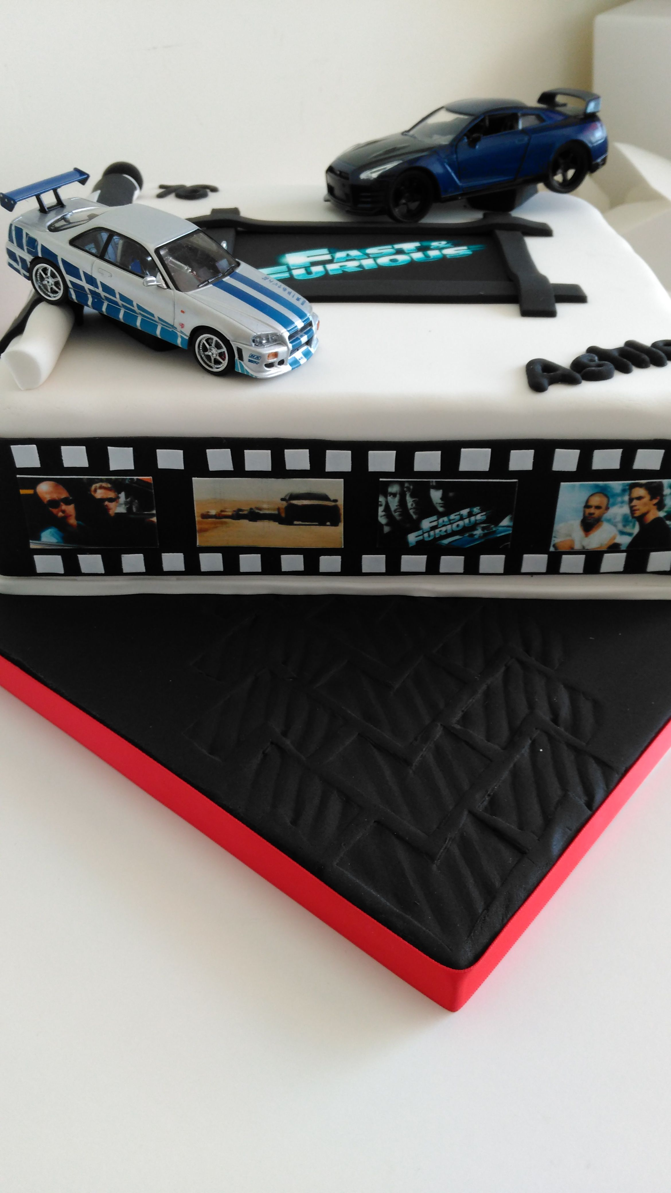 Fast And Furious Inspired Cake Fast Furious Birthday