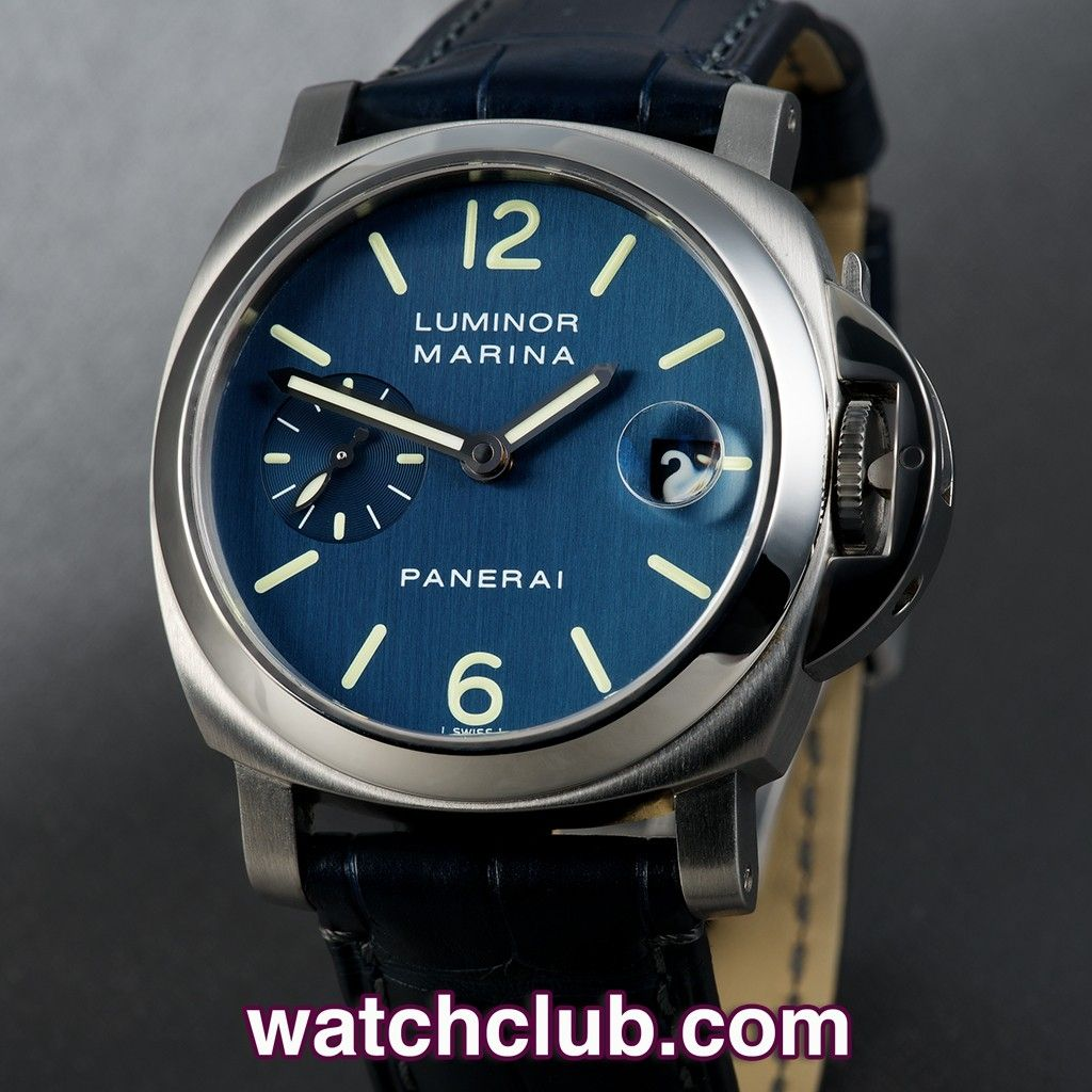 sports shoes 7fd62 6e70f Panerai Luminor Marina 40mm - Box & Papers REF: PAM 00119 ...