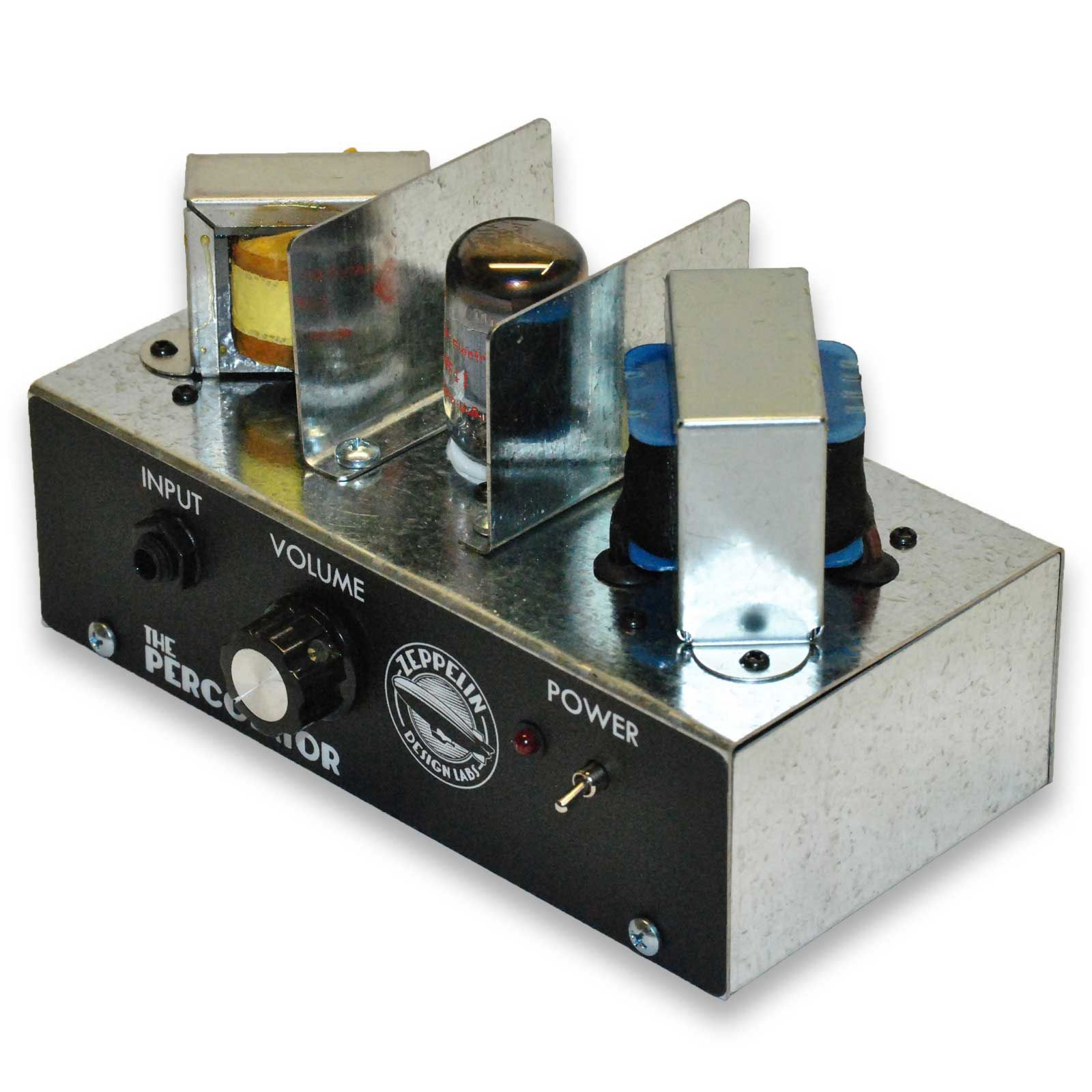small diy tube amp kit for guitar cigar box guitar and harmonica one tube two watts three happiness  [ 1600 x 1600 Pixel ]