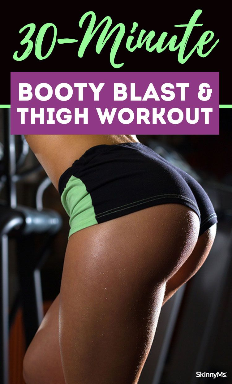 30-Minute Booty Blast Thigh Workout
