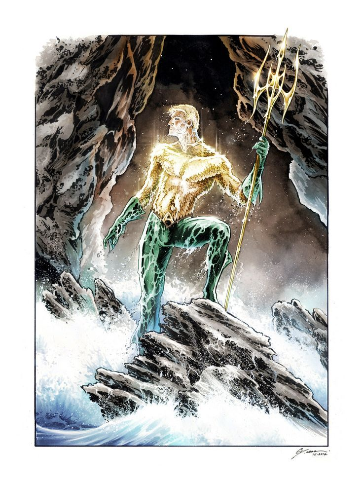 Aquaman by Daniel Govar Aquaman artwork, Superhero art