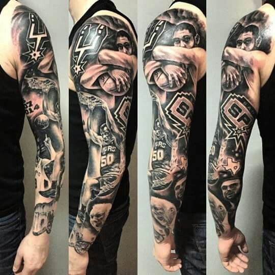 san antonio spurs tattoo tattoo ideas pinterest san