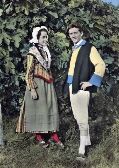 Costume Ardèchois.