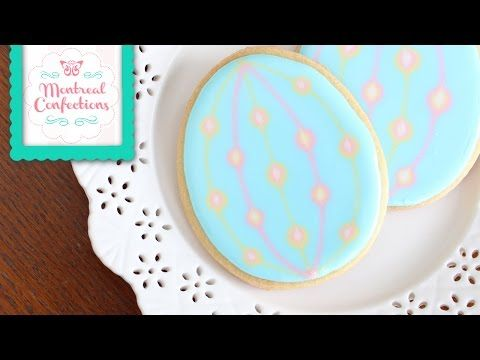 What is wet-on-wet icing - How to use wet-on-wet icing - YouTube
